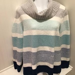 Sweater XL. Blue/Gray/White Pullover EUC